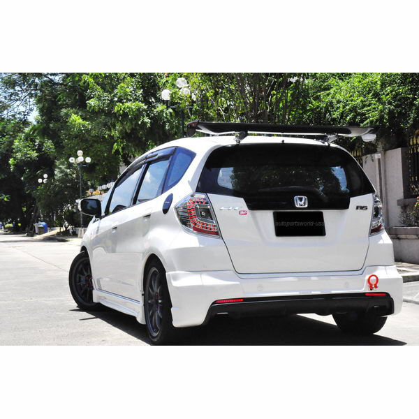 2008 2011 Honda Fit Jazz Ge Rear Wing Roof Spoiler Dtm