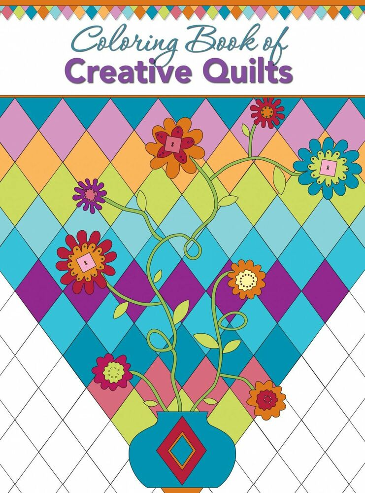 Coloring Book Of Creative Quilts Landauer Publishing