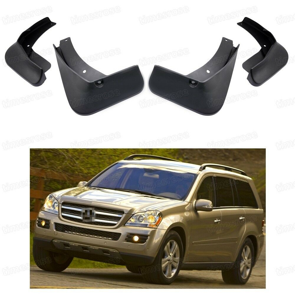 Car mud flaps fender mudguard guard for mercedes benz gl for 2008 mercedes benz gl450 accessories