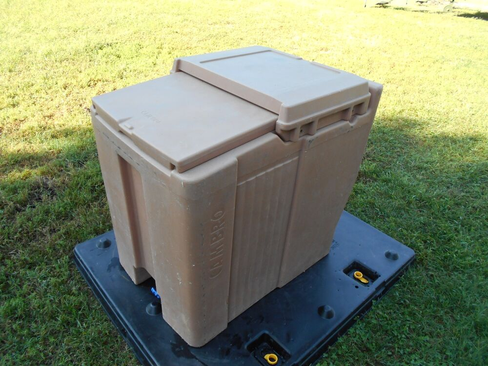 Military Surplus Cambro Ice Chest Box Cooler Kitchen