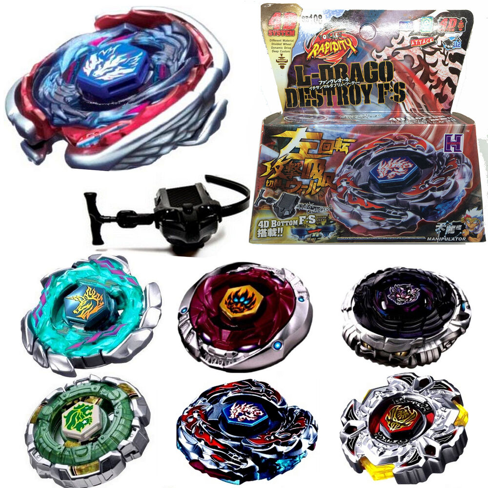 All Beyblade Toys : Fusion metal rapidity fight masters d top beyblade string