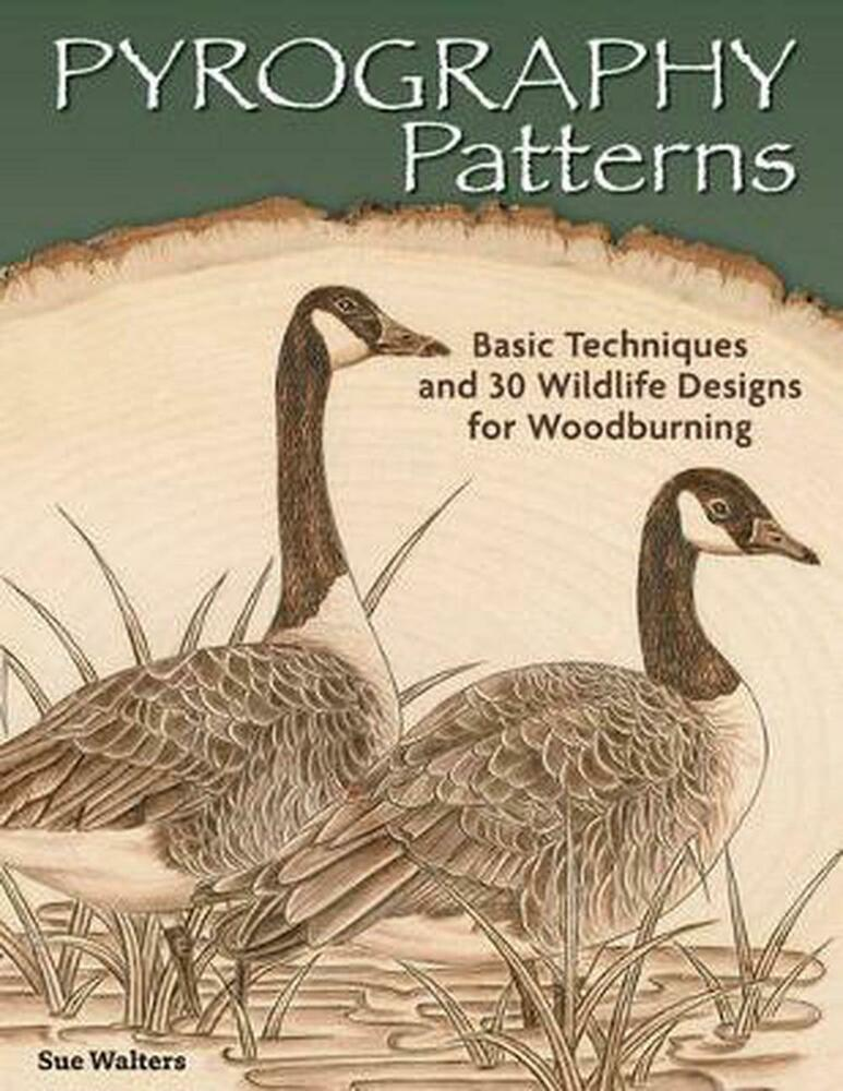 Pyrography Patterns: Basic Techniques and 30 Wildlife ...