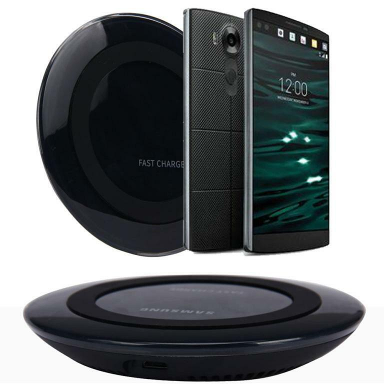 qi wireless charger charging pad for lg v10 g4 g3 nexus 4. Black Bedroom Furniture Sets. Home Design Ideas