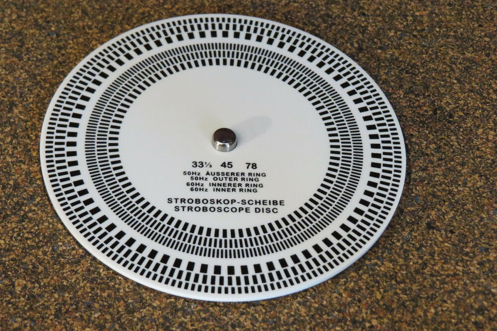 105mm Acrylic Turntable Record Player Strobe Disc
