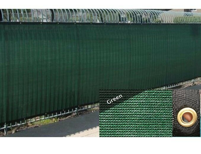 Green 4 39 5 39 6 39 8 39 fence windscreen privacy screen shade for Cloth privacy screen