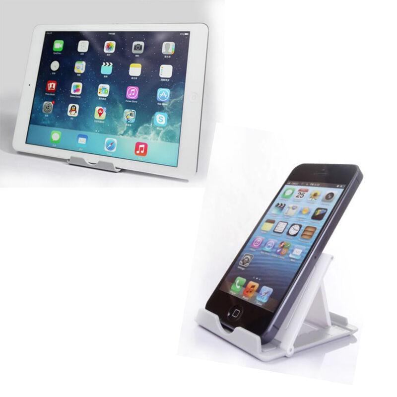 iphone desk stand universal desk portable foldable plastic stand holder 11799
