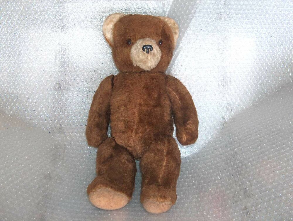 VINTAGE STUFFED PLUSH TOY - BEAR, USSR/RUSSIA | eBay