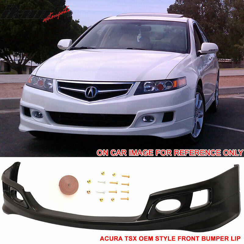 Fits 06-08 Acura TSX OE Factory Style Front Bumper Lip Spoiler ... on scion xa front lip, chrysler crossfire front lip, lincoln ls front lip, saturn ion front lip, nsx front lip, mitsubishi eclipse front lip, pontiac solstice front lip, hyundai genesis coupe front lip, pontiac grand prix front lip, toyota yaris front lip, ford fusion front lip, porsche boxster front lip, infiniti m35 front lip, toyota matrix front lip, cadillac cts front lip, nissan 240sx front lip, volkswagen cc front lip, mitsubishi lancer gts front lip, acura rsx type s front lip, mazda 5 front lip,
