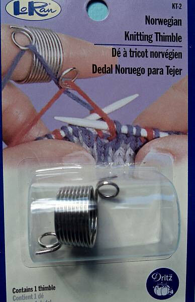 Knitting Thimble Norwegian : Dritz loran norwegian knitting thimble ebay