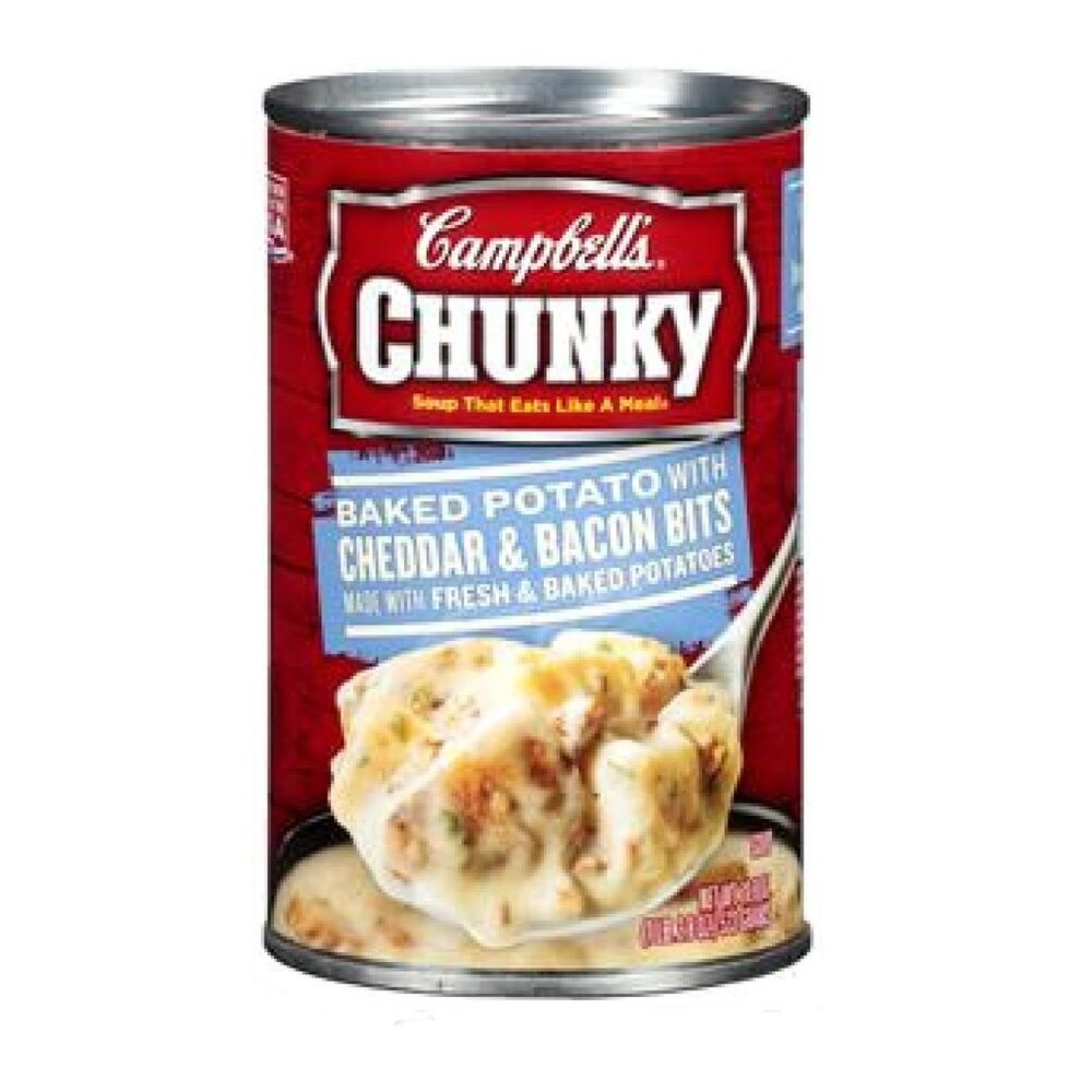 Campbell's Chunky Baked Potato w/ Cheddar & Bacon Bits Soup 18.8oz Ca...