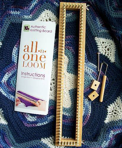 Authentic Knitting Board Patterns : All-N-One Knitting Loom From Authentic Knitting Board eBay