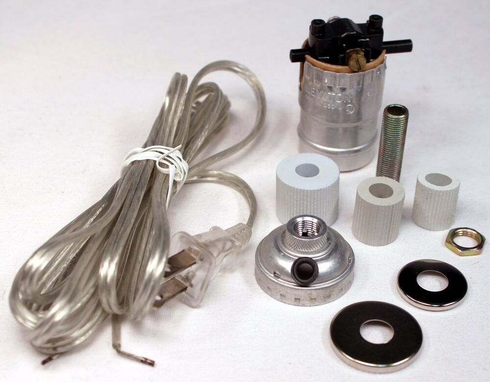 Silver Make A Lamp Wiring Kit For Wine Oil Bottle Lamp