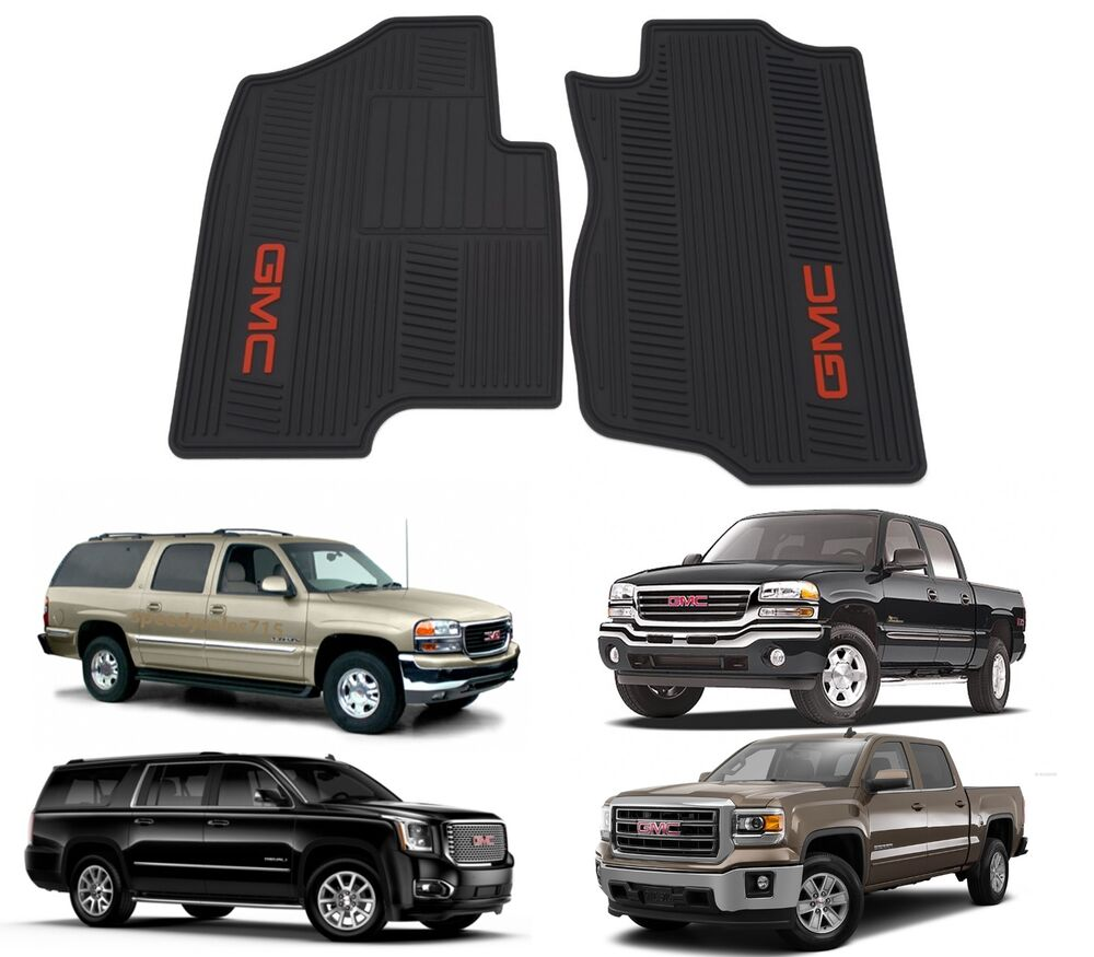 Genuine Gm 12499644 Floor Mats Front Premium All Weather