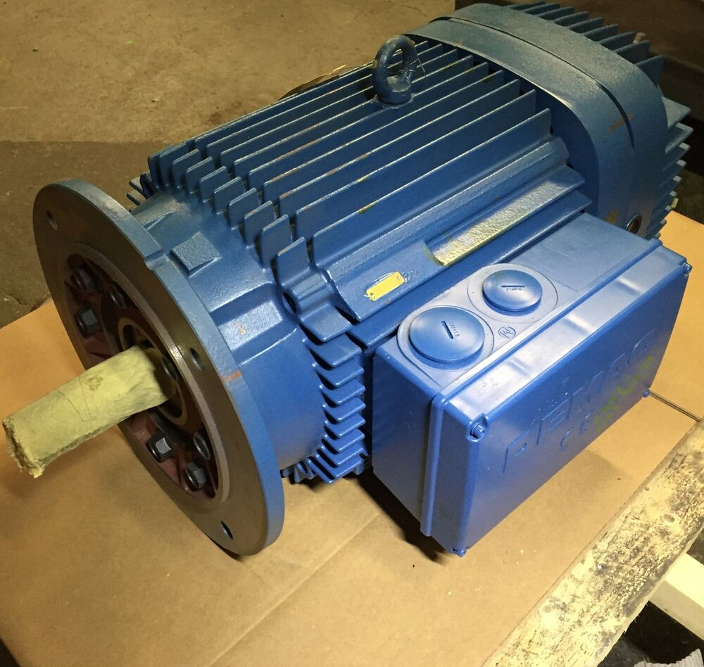 Demag Kba 160 B6 Brake Motor 21 Hp 230 460vac 3ph 1160 Rpm