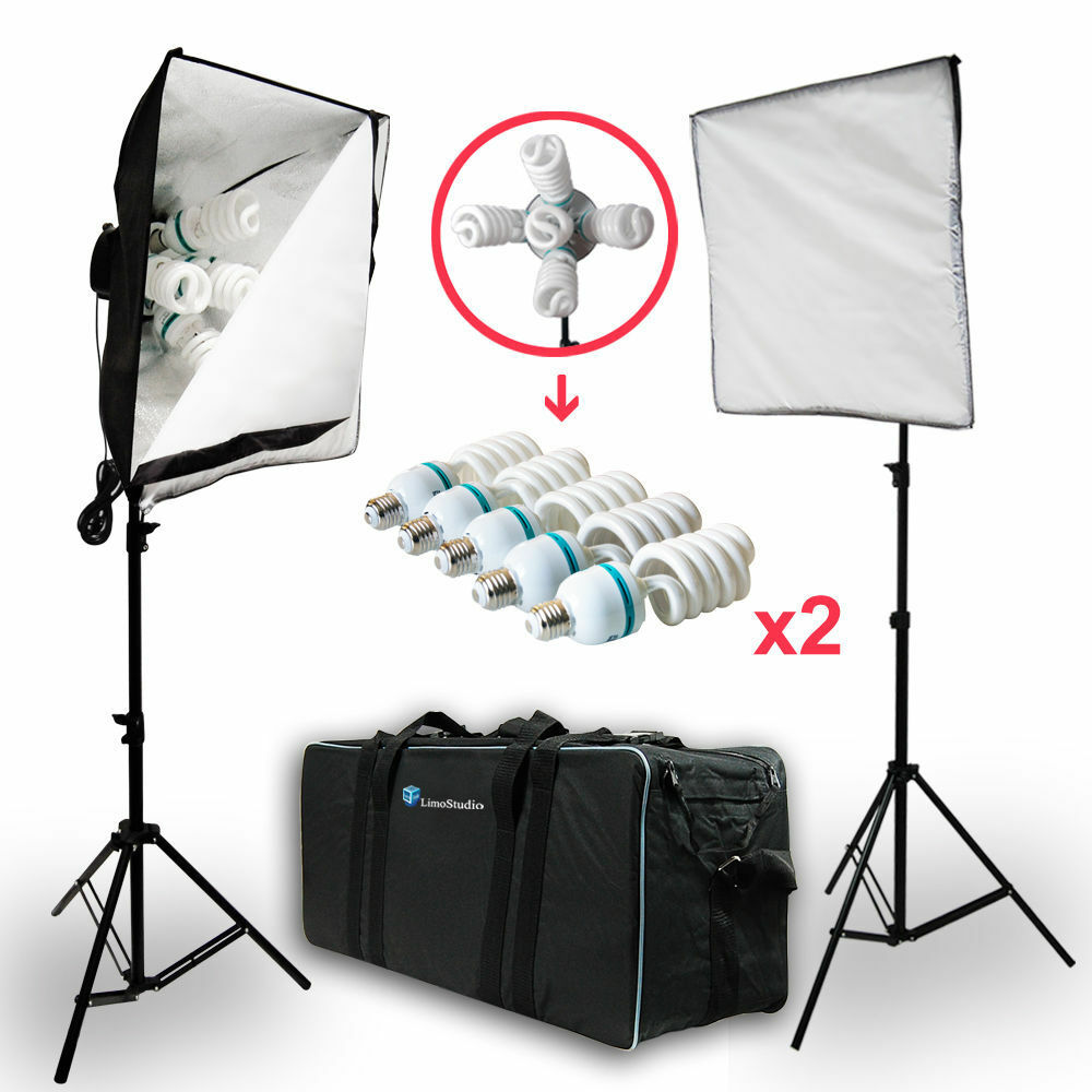 2000w photo studio video photography softbox light stand. Black Bedroom Furniture Sets. Home Design Ideas
