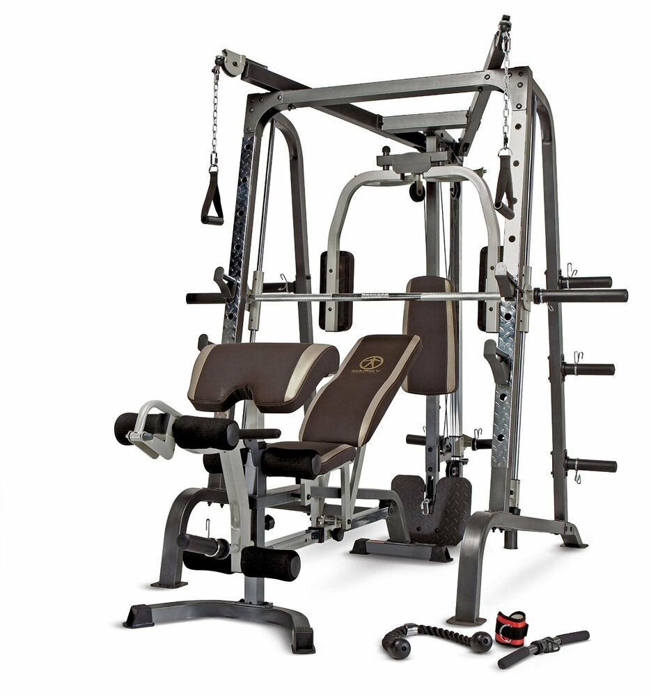 Top Exercise Equipment: Marcy Deluxe Diamond Elite Smith Cage Workout Machine