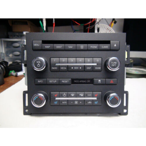 lincoln-mks-2009-cd-player-radio-wnavigation-climate-controls-8a5t19c156al