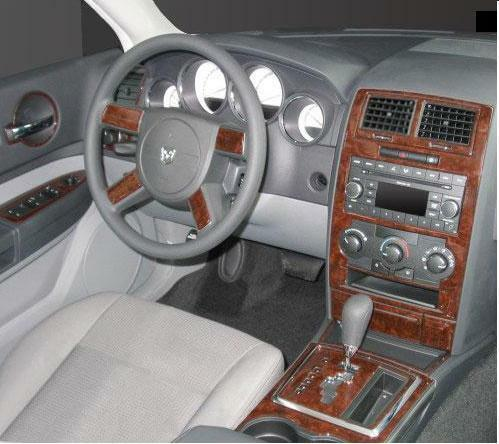Dodge charger magnum se r t sxt interior wood dash trim - Dodge magnum interior accessories ...