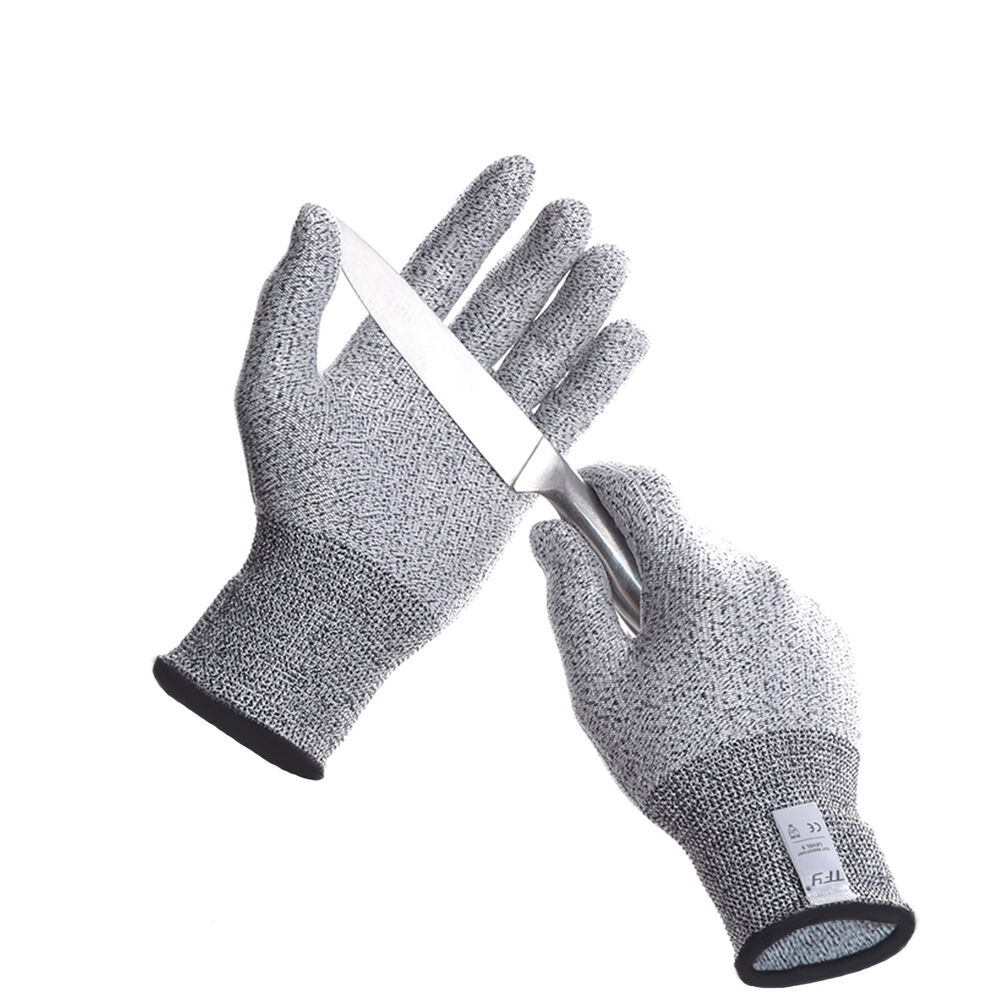 Anti Abrasion Cut Resistant Safety Kitchen Gloves For Hand Protection 1 Pair Ebay