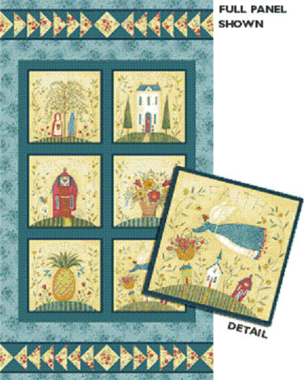 Fabric Panels Wall Art Business : Family forever cotton quilting fabric panel or wall