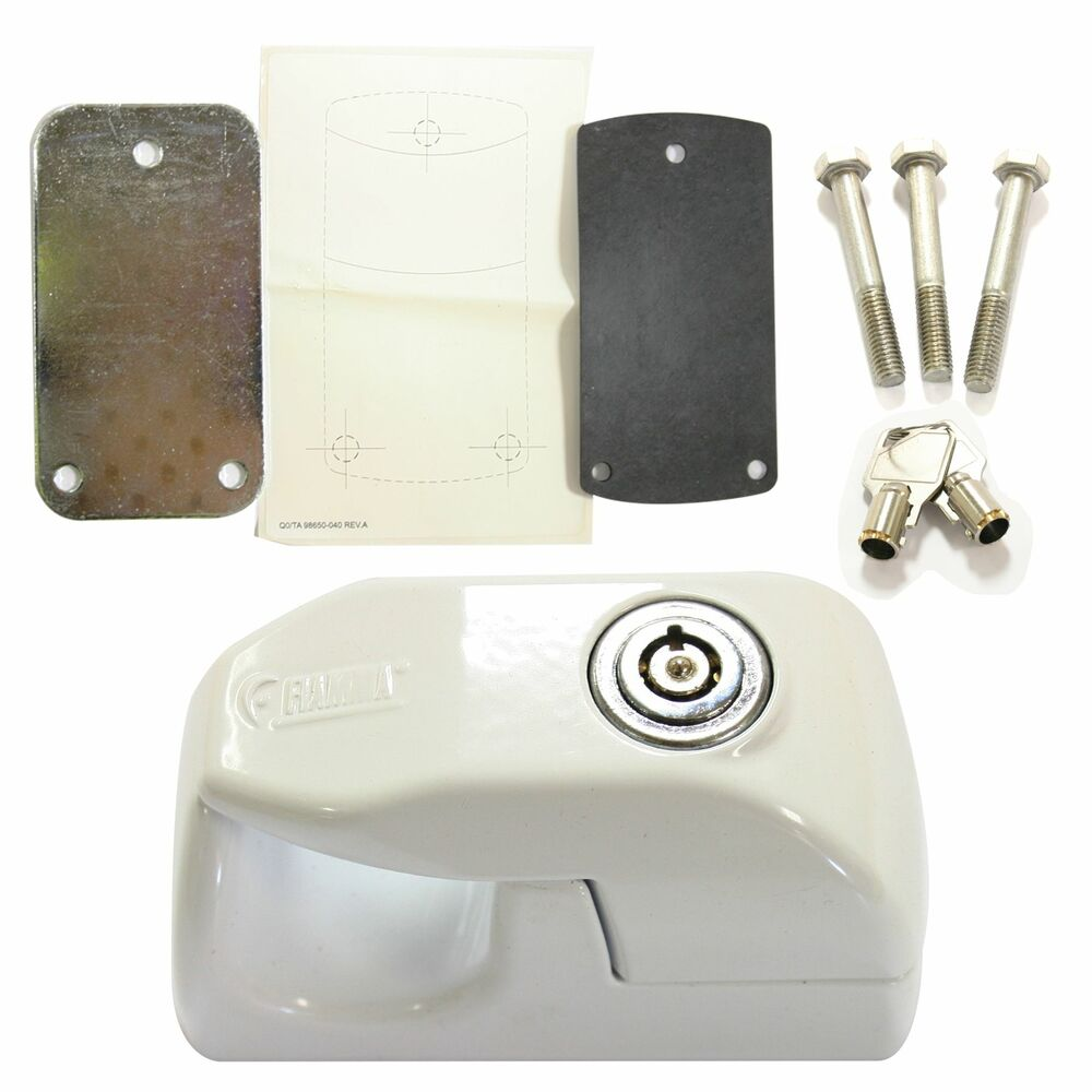 Fiamma Door Handle 31 Amp 46 Kit Security Lock Caravan