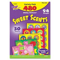 Trend Stinky Stickers T-83901 Sweet Scents Variety Pack Assorted