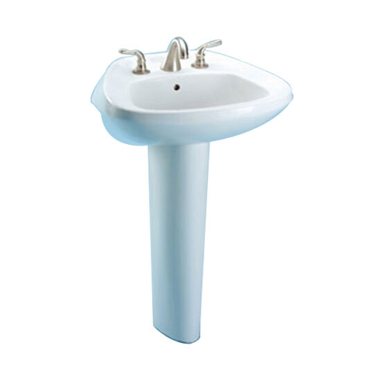 toto bathroom sinks toto ultimate sanagloss pedestal lavatory only lt243 4g 12 14785