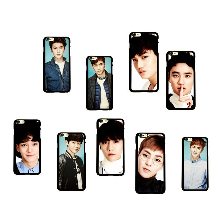 kpop iphone cases kpop exo cellphone cover mobile phone shell telephone 12558