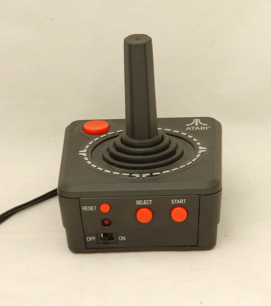 Atari TV Plug & Play Joystick home video system 10 in 1 ...