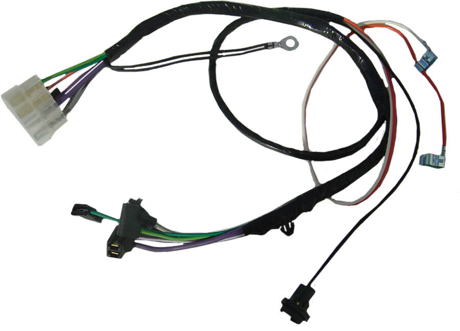 68-72 chevelle monte carlo console wiring harness with ... 68 chevelle wiring harness 68 chevelle wiring schematic with air #1