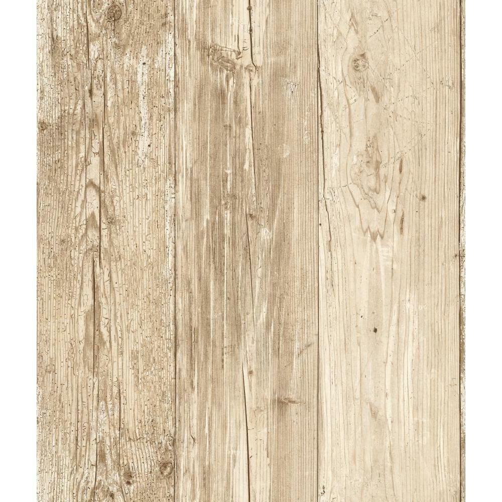 Wallpaper Faux Wood Whitewashed Wood Cabin Boards White ...