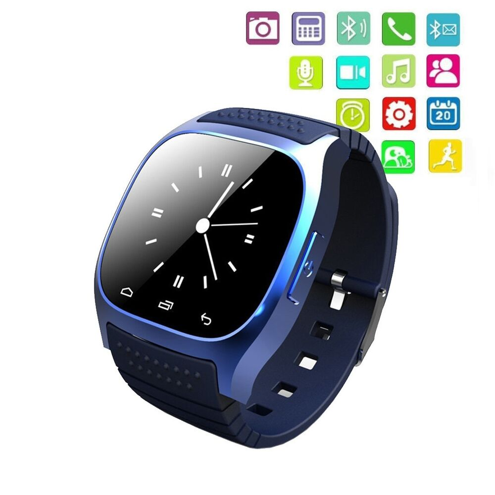 M26 Waterproof Smart Wrist Watch Phone Mate For Android ...