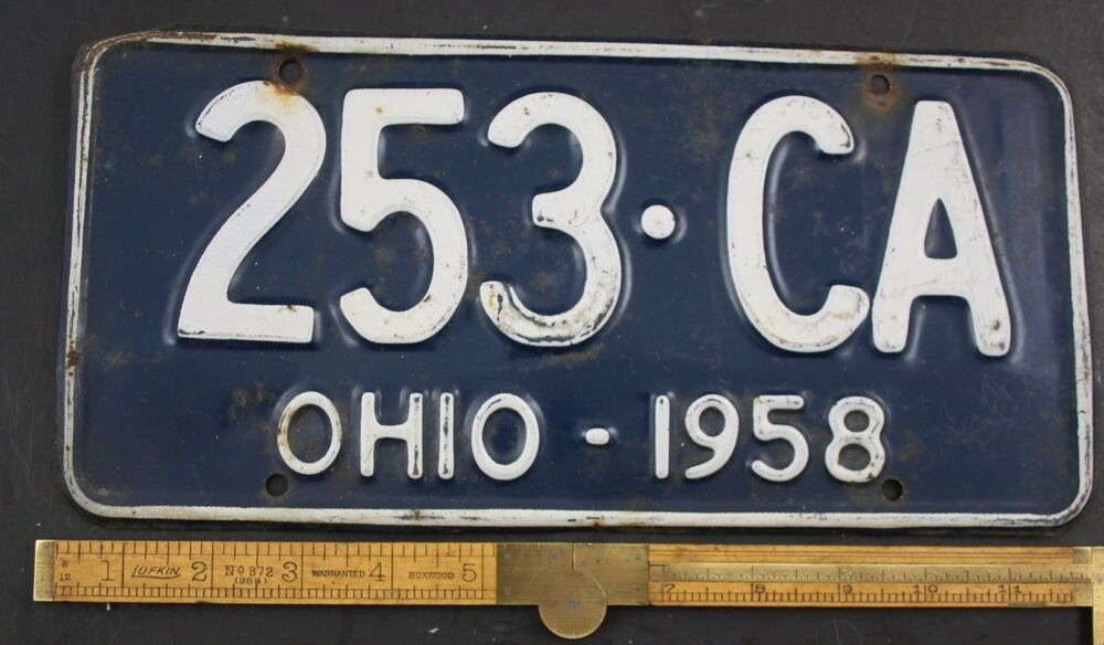 Look Up Available License Plates in Ohio