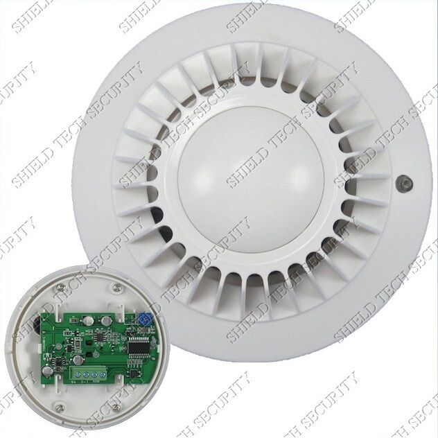 wired smoke detector 12v normally closed nc for fire alarm. Black Bedroom Furniture Sets. Home Design Ideas