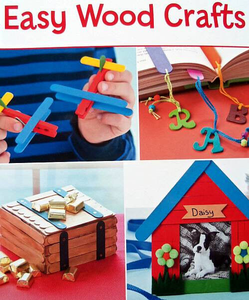 wood crafts ideas for adults easy wood crafts leisure arts leaflet for children or 7347