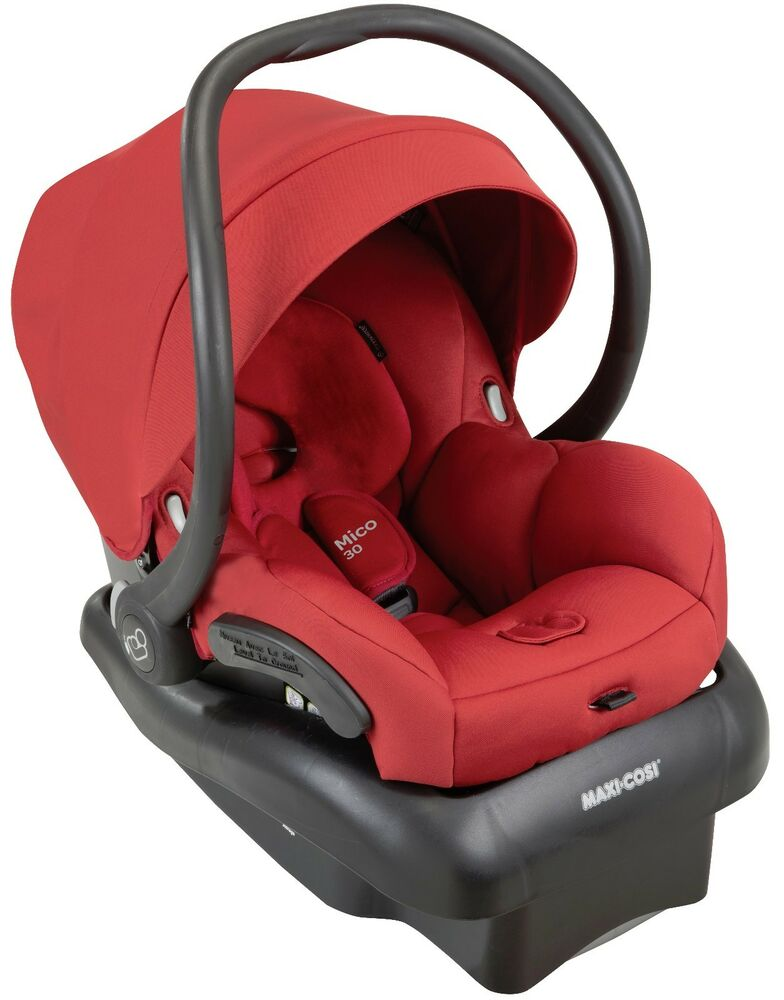 maxi cosi mico 30 infant baby car seat w base red rumor 5. Black Bedroom Furniture Sets. Home Design Ideas