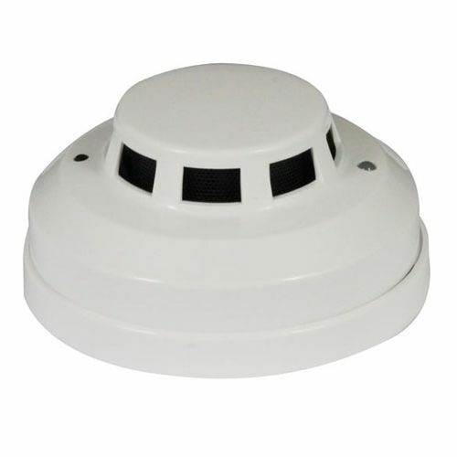 normally open 12v wired smoke detector photoelectric for. Black Bedroom Furniture Sets. Home Design Ideas