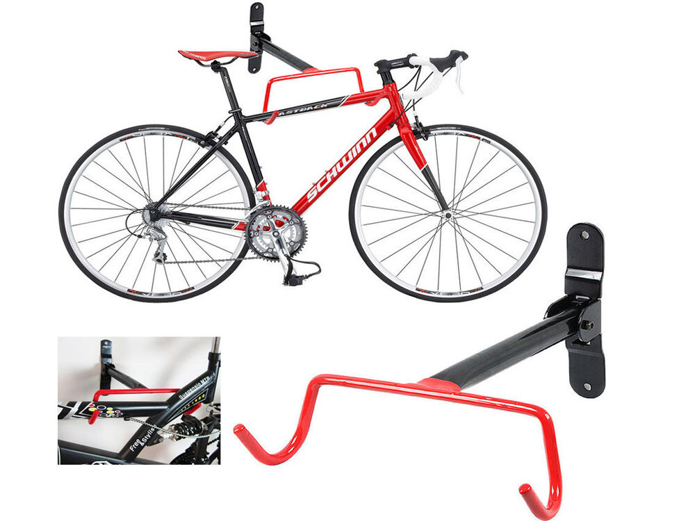 bike storage rack wall mounted bike bicycle cycle storage rack hook holder 10781