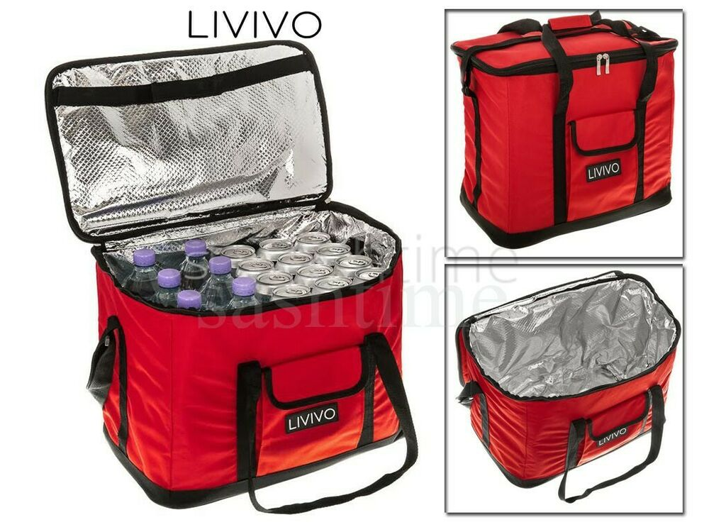 Extra Large 30 Litre 60 Can Insulated Cooler Cool Bag
