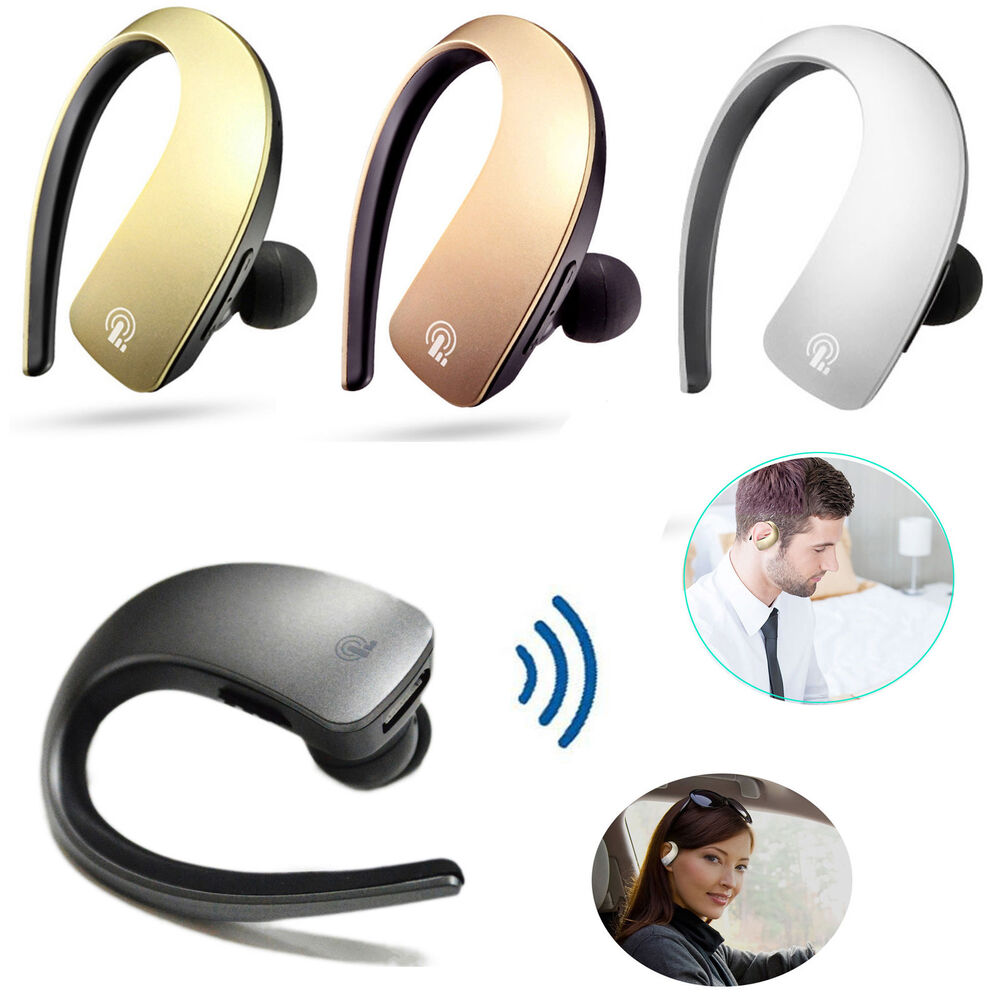 fashion wireless bluetooth headset stereo earbuds headphone for smartphone pc ebay. Black Bedroom Furniture Sets. Home Design Ideas