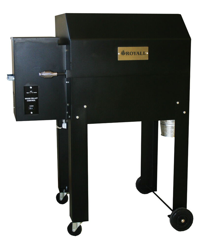 Pellet smoker grill royall model 1000 ebay - Pellet grills and smokers ...