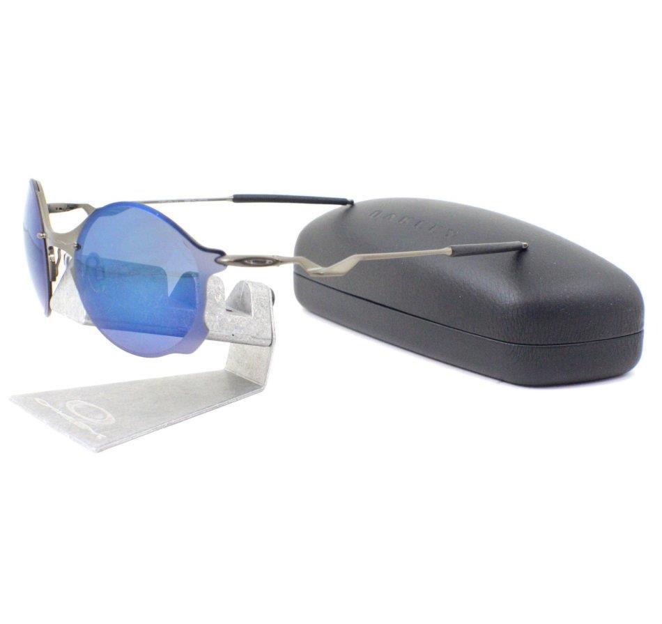 65ed54b7db9 Oakley OO 4088-02 TAILEND Pewter Ice Iridium Mens Wire Collector Sunglasses  888392084569
