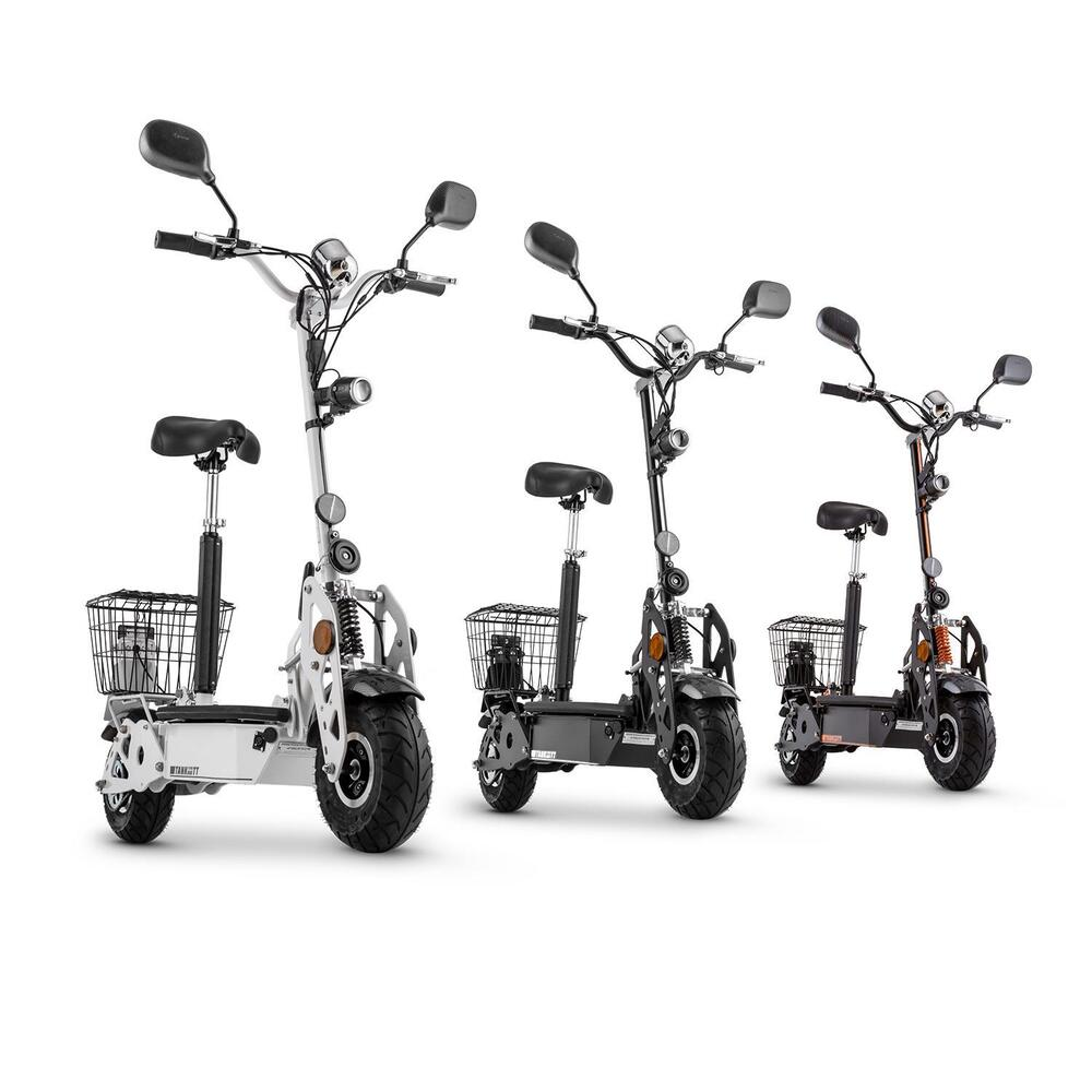 elektro scooter e scooter 40km h city roller elektroroller. Black Bedroom Furniture Sets. Home Design Ideas
