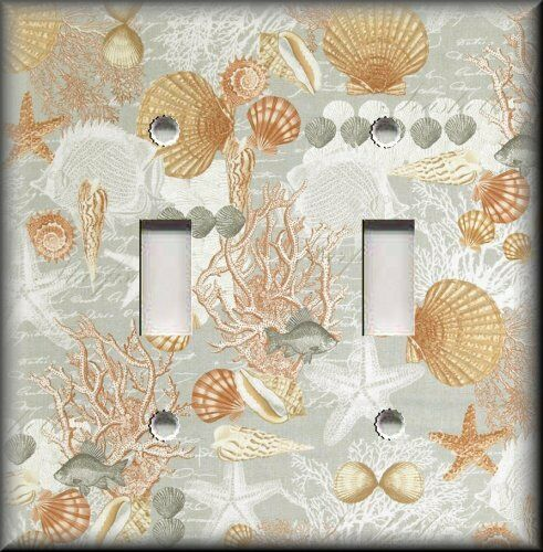 Beach House Decor Items: Shells Fish Starfish