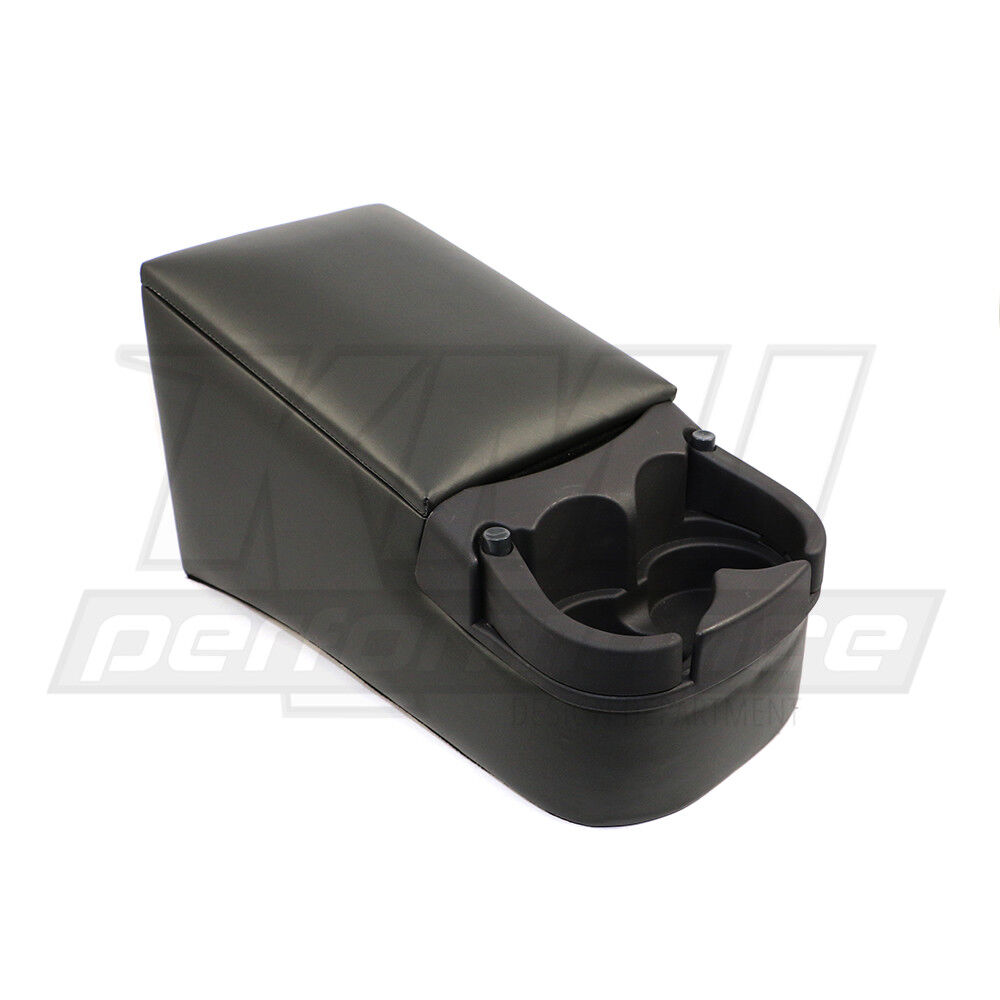 rampage 39223 universal truck bench seat center console charcoal gray ebay. Black Bedroom Furniture Sets. Home Design Ideas