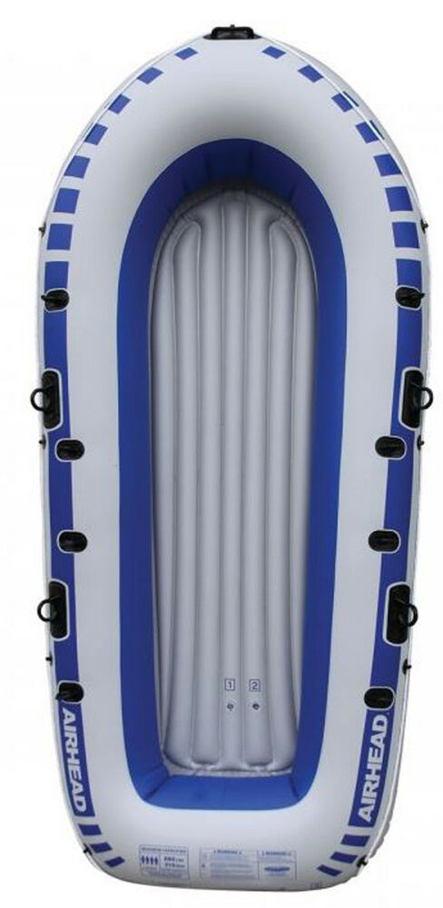 Airhead 4 Person Portable Lightweight Pond Lake River Inflatable Boat Ahib 4 Ebay