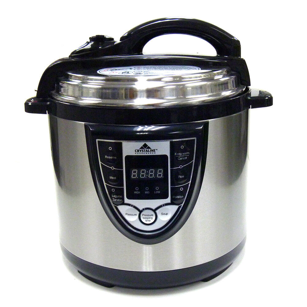 Elec Pressure Cooker ~ Tectron quart in multifunction electric pressure