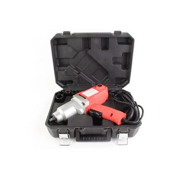 1 2 half inch electric impact wrench with bits carrying case ebay. Black Bedroom Furniture Sets. Home Design Ideas