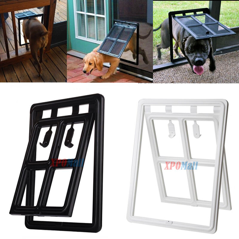 S L Size Easy Screen Pet Door Gate Way For Medium Or Large