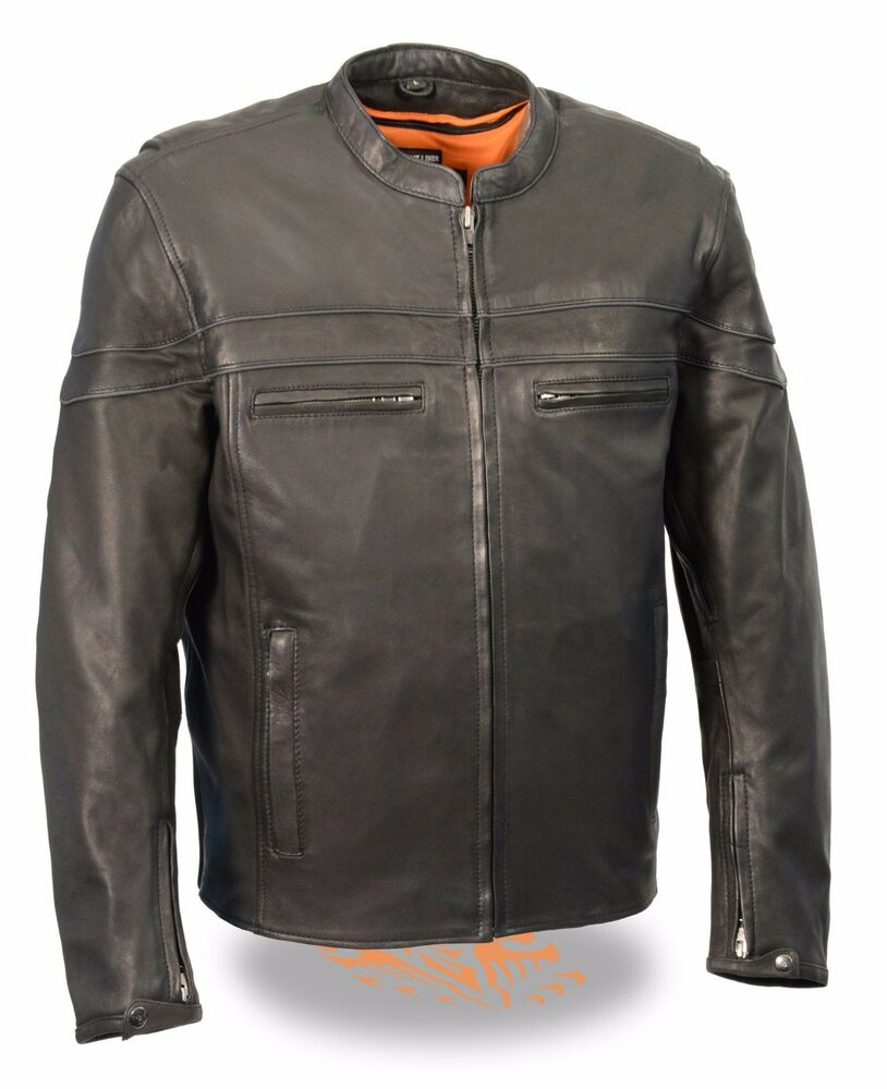 Mens lightweight leather jackets